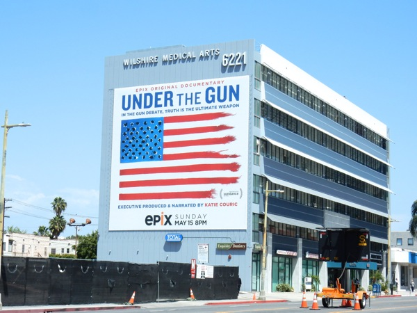 Giant Under the Gun documentary billboard