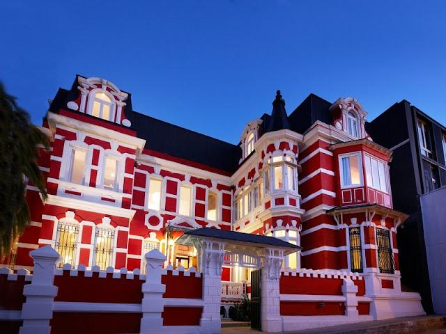 Hotel de luxo Palacio Astoreca em Valparaíso