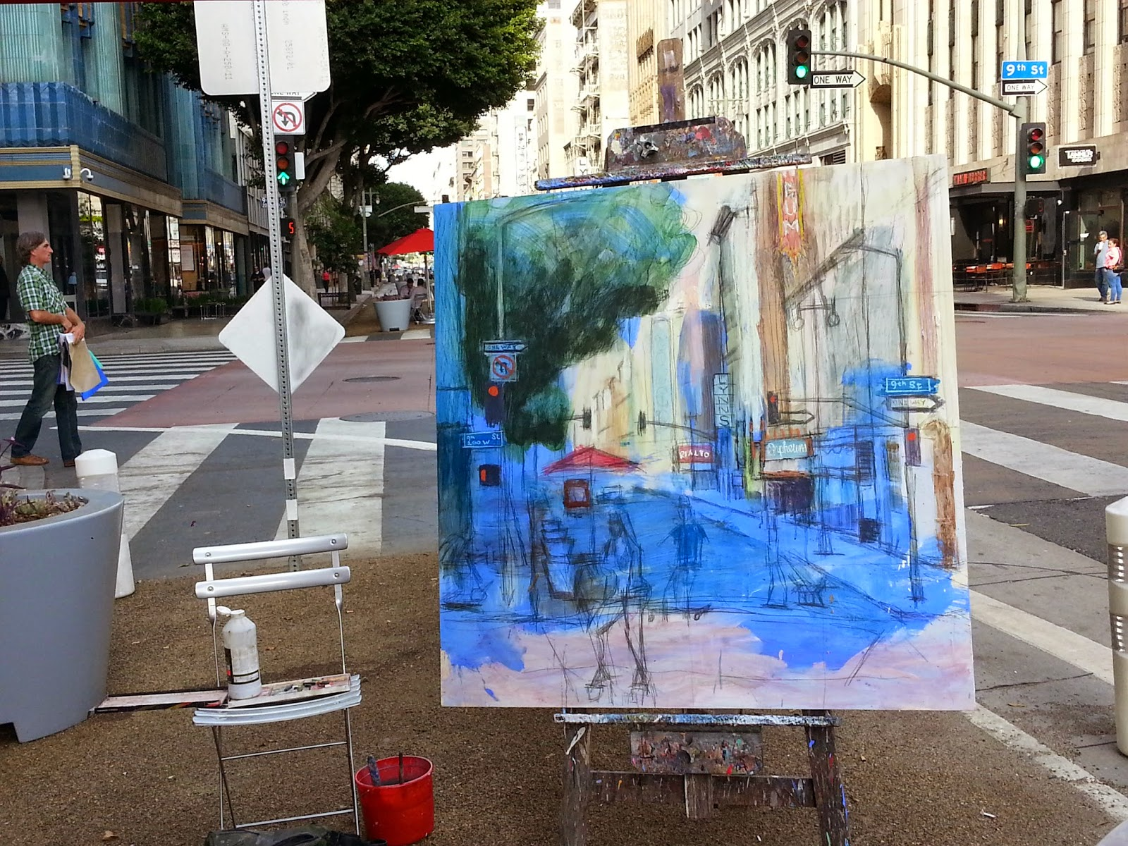 http://www.ebay.com/itm/Alex-Schaefer-John-Kilduff-Plein-Air-Cityscape-Collaboration-Large-48-034-x48-034-/361129537632