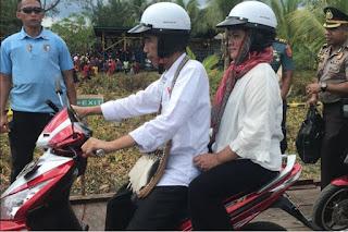 Inilah motor listrik yang dipakai Jokowi saat blusukan ke Papua.