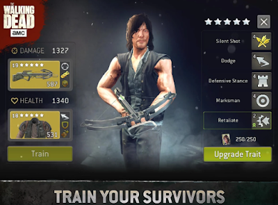 The Walking Dead No Mans Land MOD APK -The Walking Dead No Mans Land