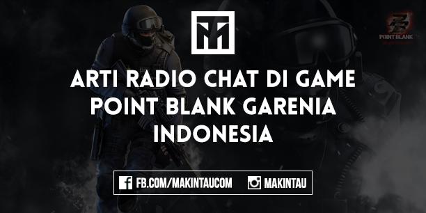 Arti dan Maksud Radio Chat di Game Point Blank