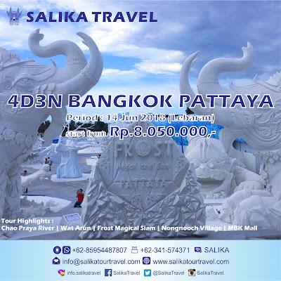 4D3N Bangkok Pattaya Lebaran - Salika Travel