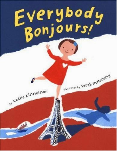 Everybody Bonjours, part of children's book review list about France