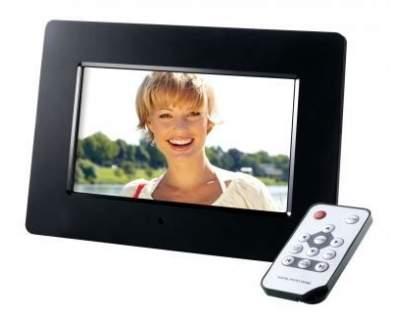 Cornice Digitale Con Sveglia E Calendario.Intenso Photomodel Cornice Digitale Con Telecomando