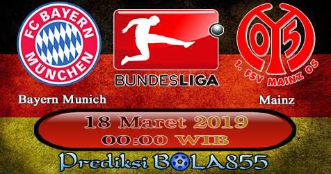 Prediksi Bola855 Bayern Munich vs Mainz 18 Maret 2019
