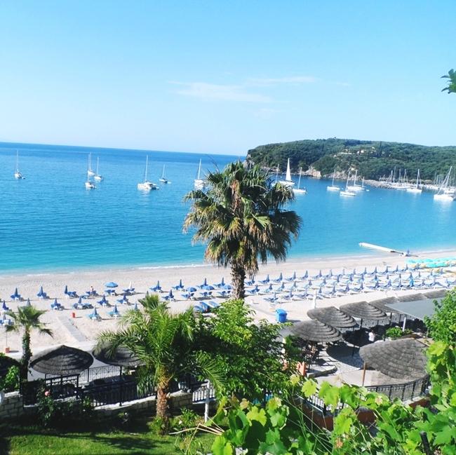 Jelena Zivanovic Instagram @lelazivanovic.Glam fab week.Valtos beach Parga Greece.Valtos plaza Parga Grcka.