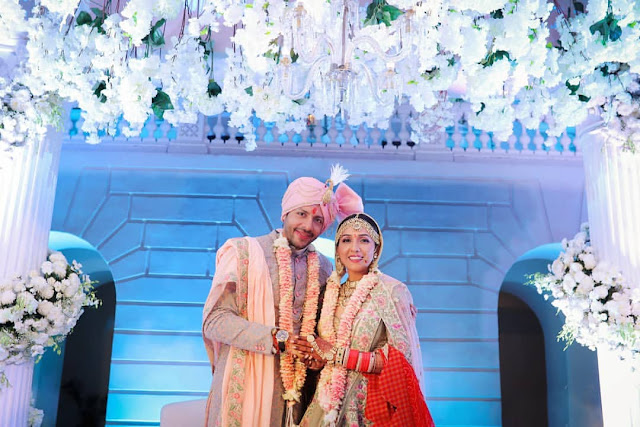 Neeti Mohan Nihar Pandya Latest Wedding Photos