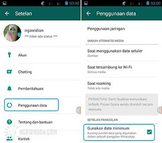 Hemat Data Internet WhatsApp  7