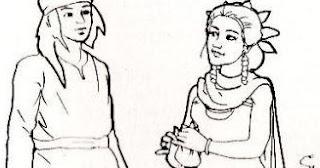 cerita rakyat manusia dari daun tea