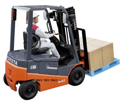 Xe nâng điện TOYOTA 4 bánh tải trọng 1,5-3 tấn mang trên mình những tính năng nổi trội mang lại năng suất cao.