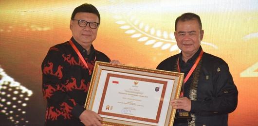 Sumbar Satu-Satu Provinsi Inovasi Terbaik Luar Jawa IGA 2018