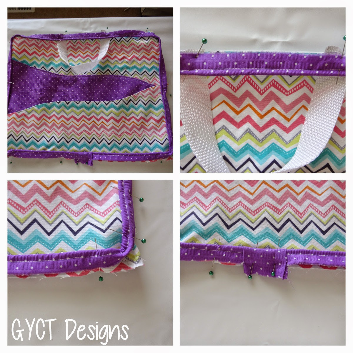 To Grandma's House Bag Pattern & Tutorial by GYCT Designs