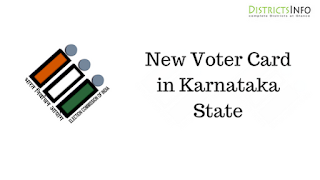 New Voter Card in Karnataka State in Online and Offline methods