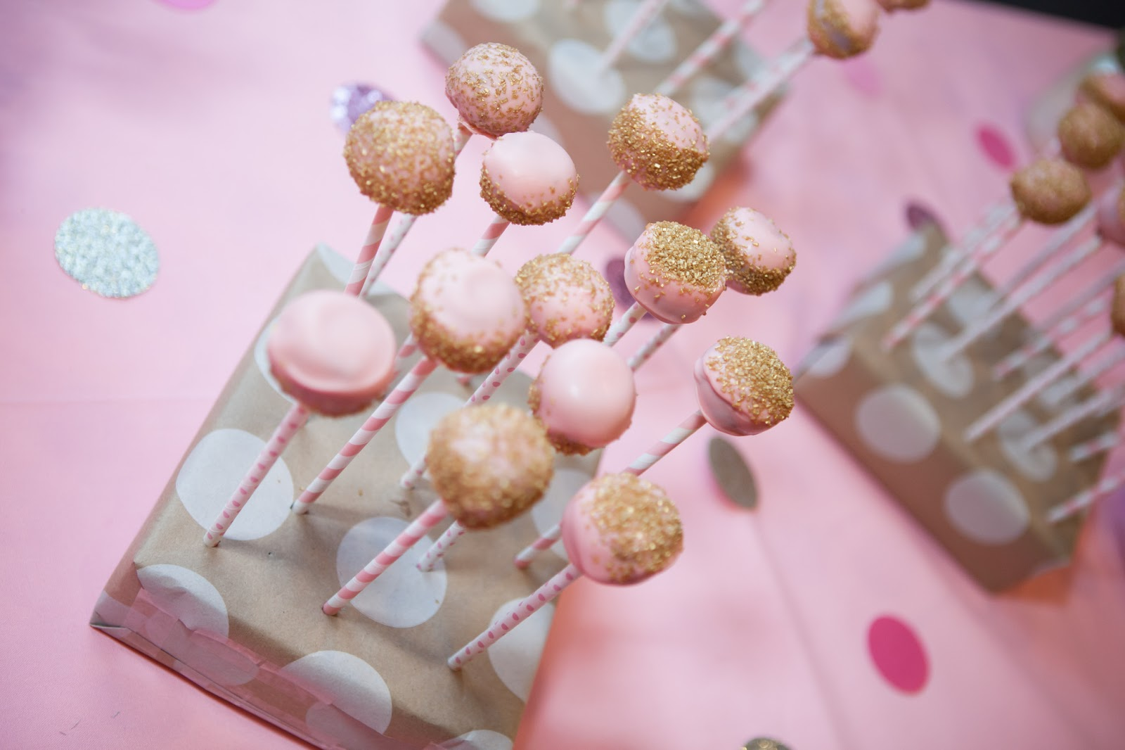Cake Pop Stand For Straws