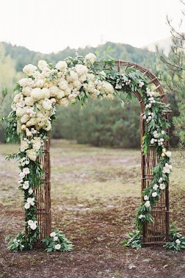 K'Mich Weddings - wedding arch