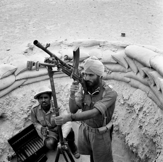 18 April 1941 worldwartwo.filminspector.com Bren gun Indian troops