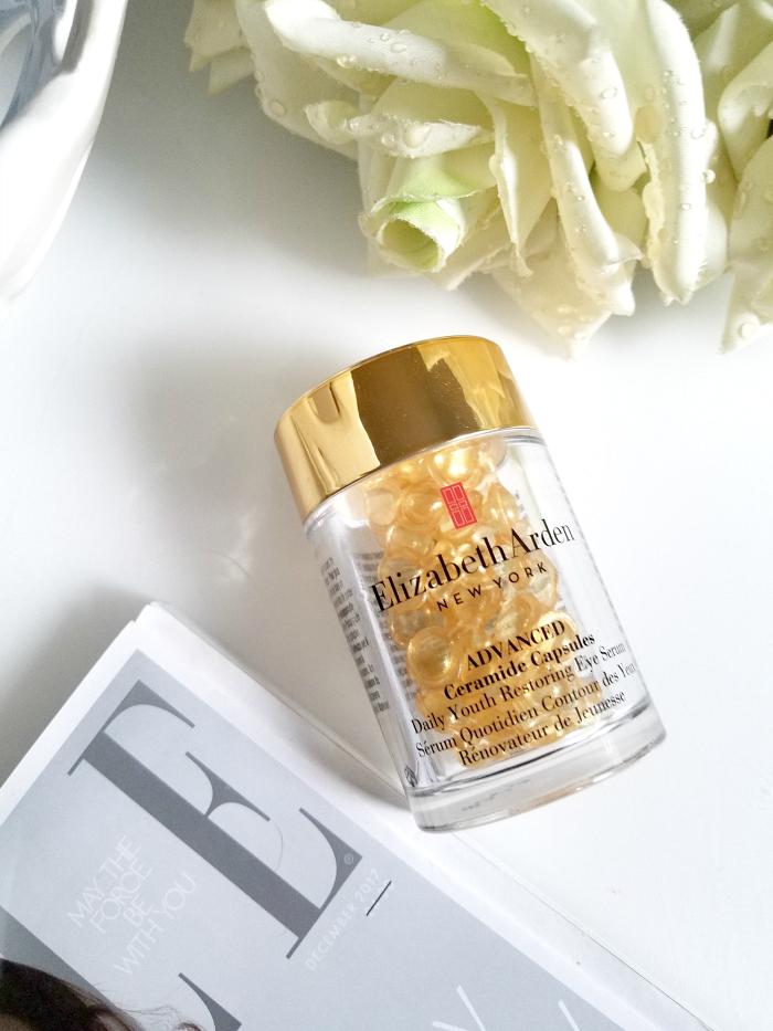 Best of Skincare 2017 - Augenpflege Nachts Elizabeth Arden Advanced Ceramide Capsules Eye Serum - Madame Keke Luxury Beauty and Lifestyle Blog