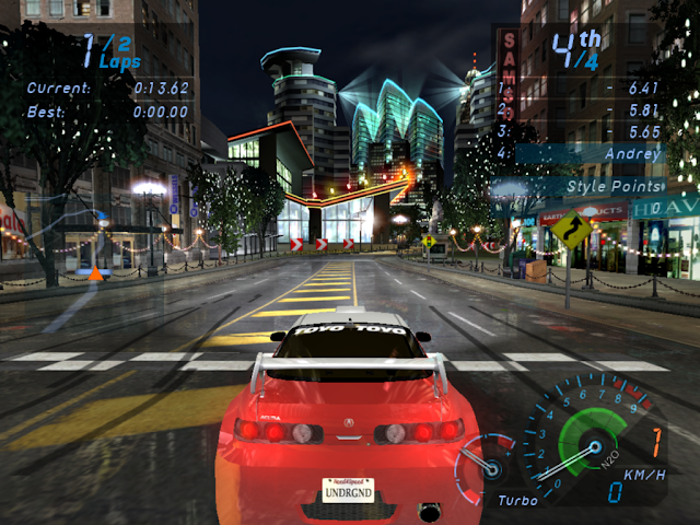 Need for Speed Underground 1 PC Full Version Screenshot 2