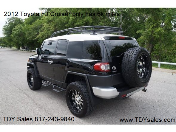 food humvee used cars diesel trucks for sale for sale 2012 toyota fj cruiser 4x4 tdy sales. Black Bedroom Furniture Sets. Home Design Ideas
