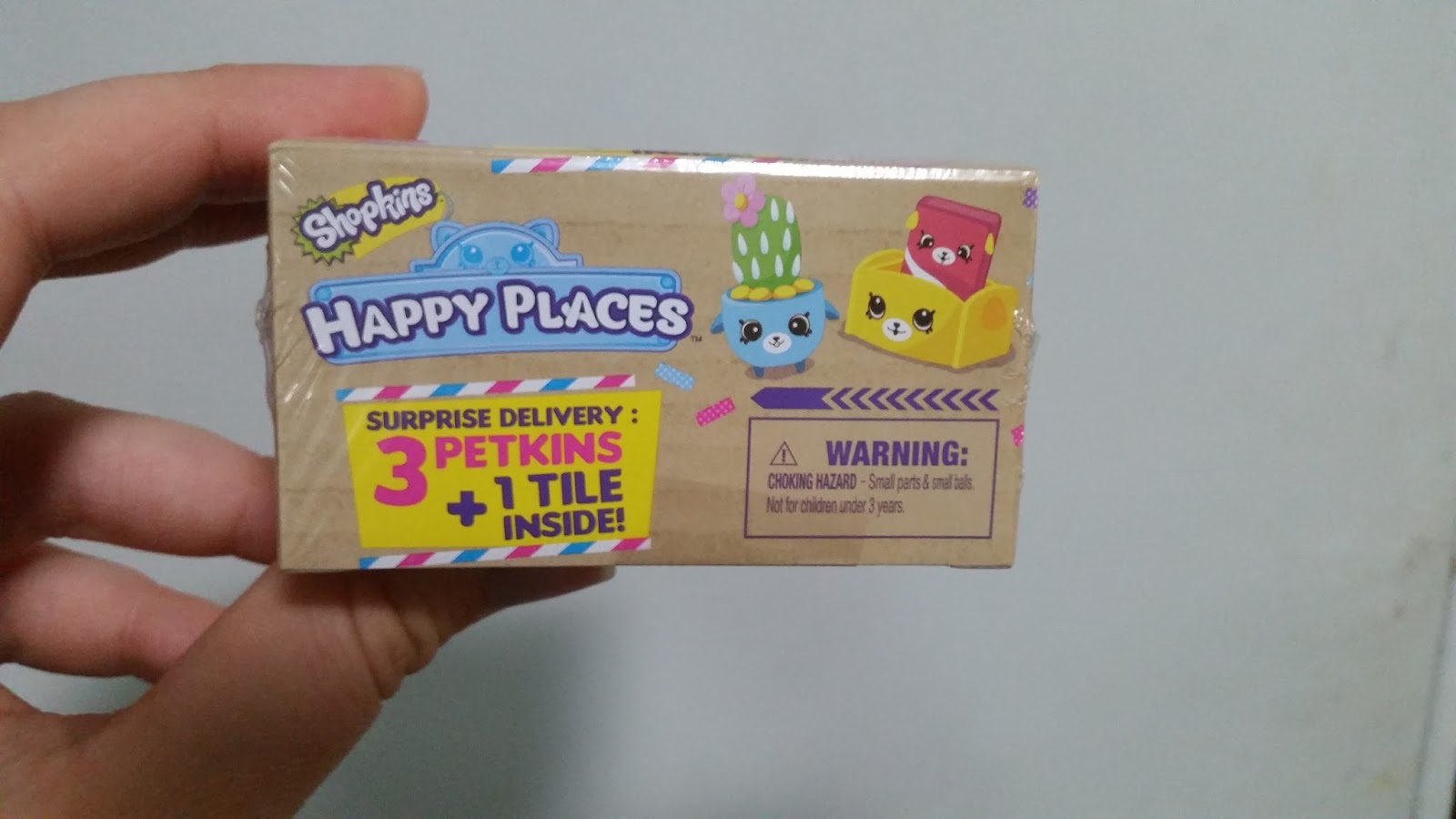**15**SHOPKINS HAPPY PLACES LIMITED EDITION BLIND BOX SET 3 PETKINS /& 1 TILE