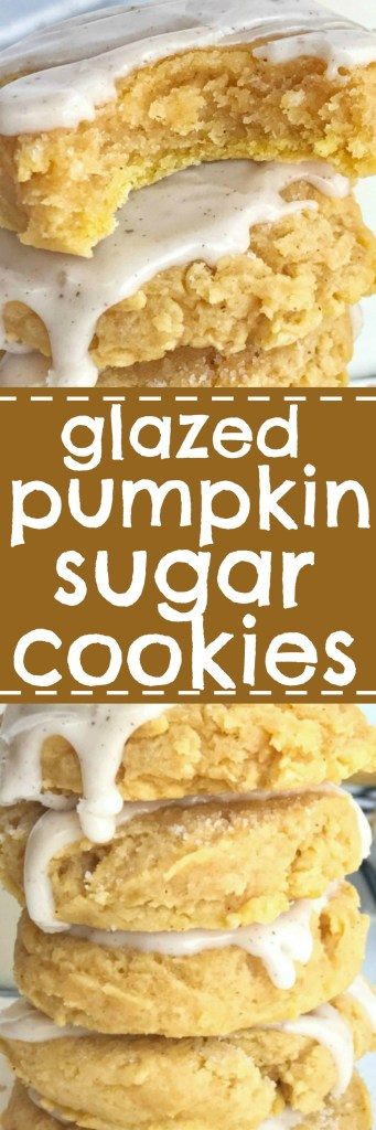 Glazed Pumpkin Sugar Cookies Recipes