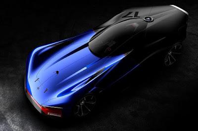 Peugeot L500 R HYbrid Concept 2016 Front Side