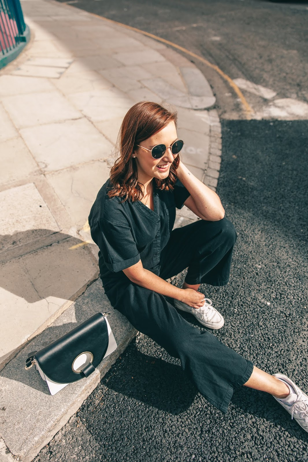 Monki Jumpsuit London Pink House OOTD Fashion Blog - My Month Long Shopping Ban - The Results // Lauren Rose Style Blogger London