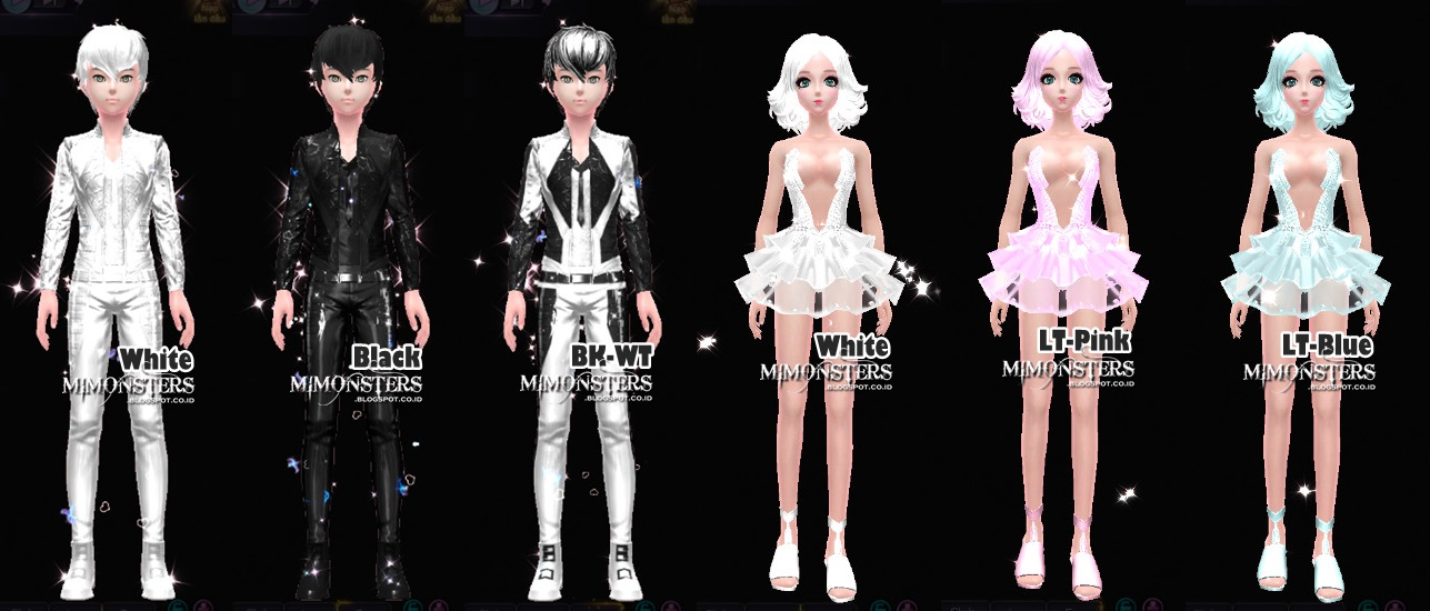 Snow Elk Opt Pack >> Fashion Set Rcoins | Crescent Egg | MIMONSTERS