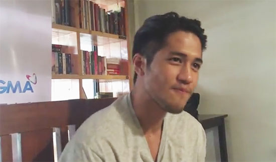 Watch Kapuso hunk actor announces his support for Duterte