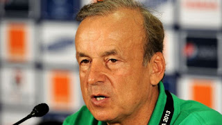Sport: I don't have many star players in Super Eagles squad – Rohr