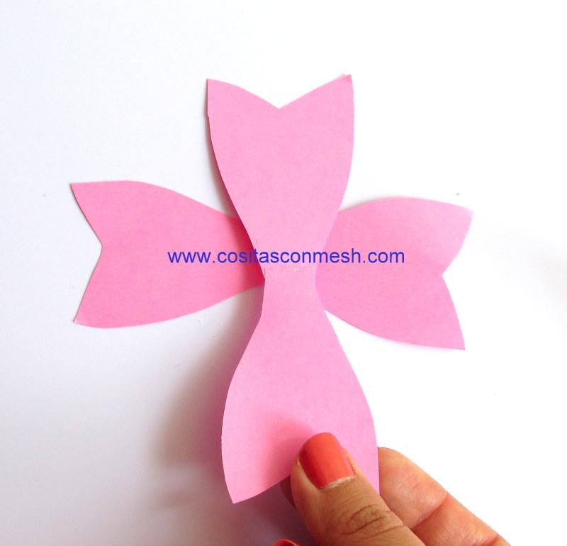 Cómo hacer moños de papel para regalos ~ cositasconmesh
