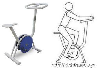 kich thuoc may tap xe dap bike