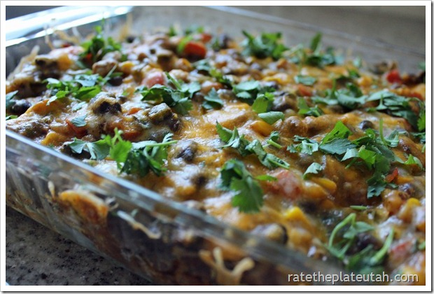 Tex-Mex Enchilada Casserole from Rate the Plate Utah