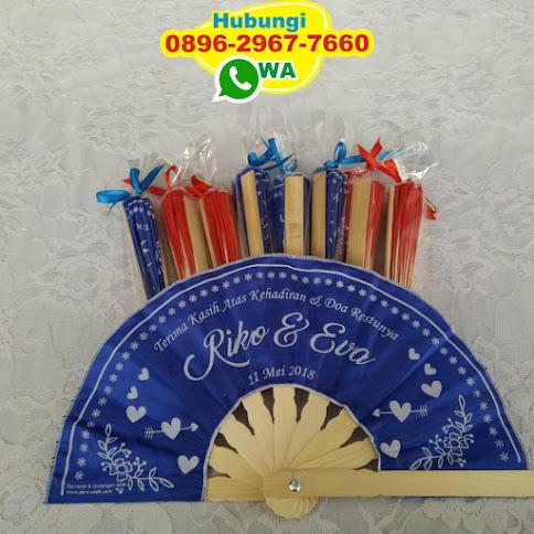 souvenir pernikahan kipas harga 1000 54225