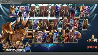 Download Naruto Senki Mod MLBB Menu by Andri Apk