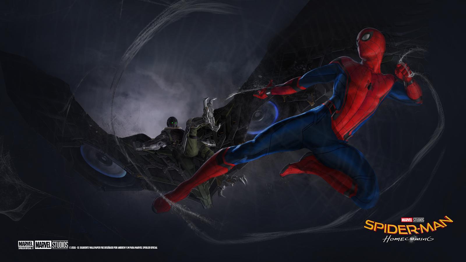 Marvel Spoiler Oficial Nuevos Wallpaper De Spider Man