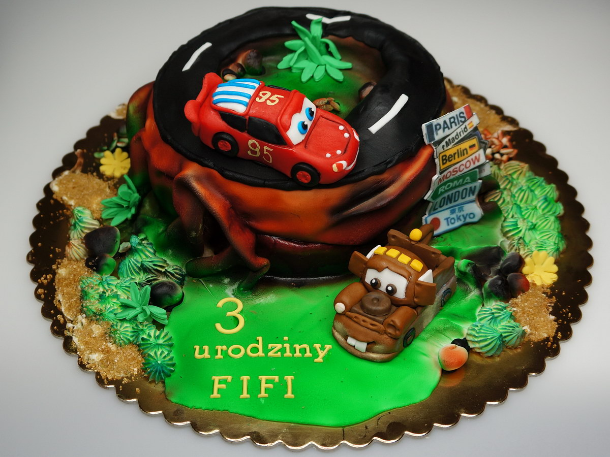 Birthday Cakes In London CARS 2 Birthday Cake London