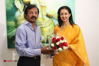 Actress Gautami visits Ganesh 365 Art Exhibition Pictures  0017