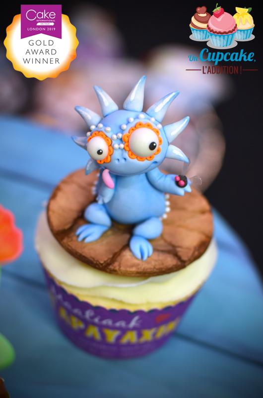 Cupcakes « Alebrijes Mexicains » - Maatiaak le Tapayaxin