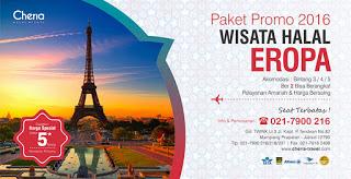 Promo Paket Tour Eropa