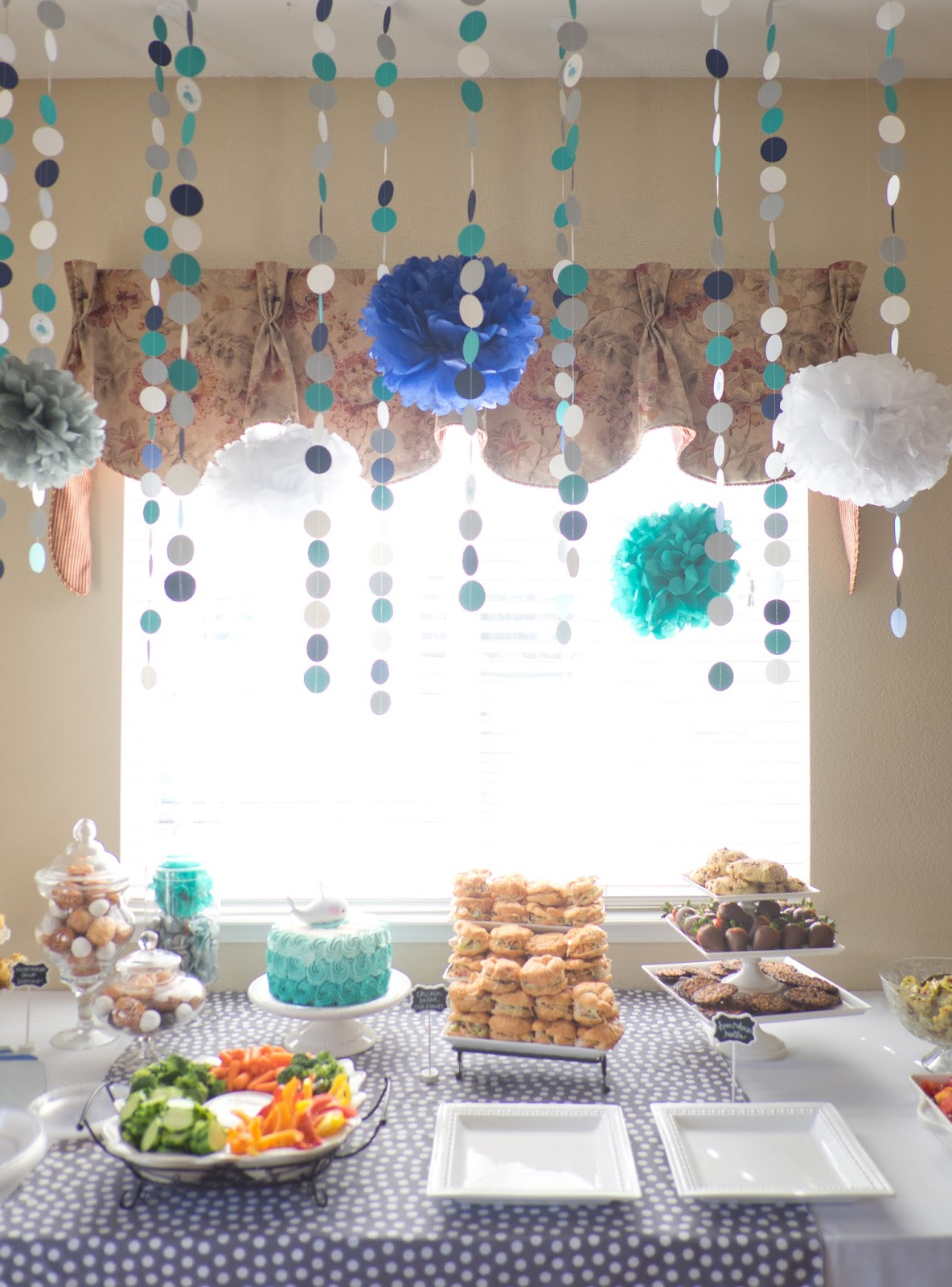 Domestic Fashionista: My Sister in Law\'s Baby Boy Shower