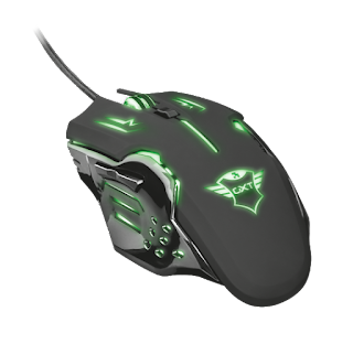 TRUST 22090 MOUSE GAMING LED RGB GXT 108