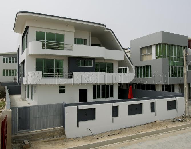 Home Design Gate Ideas: See Unique Buildings Built Inside Estate Where 2Face Lives