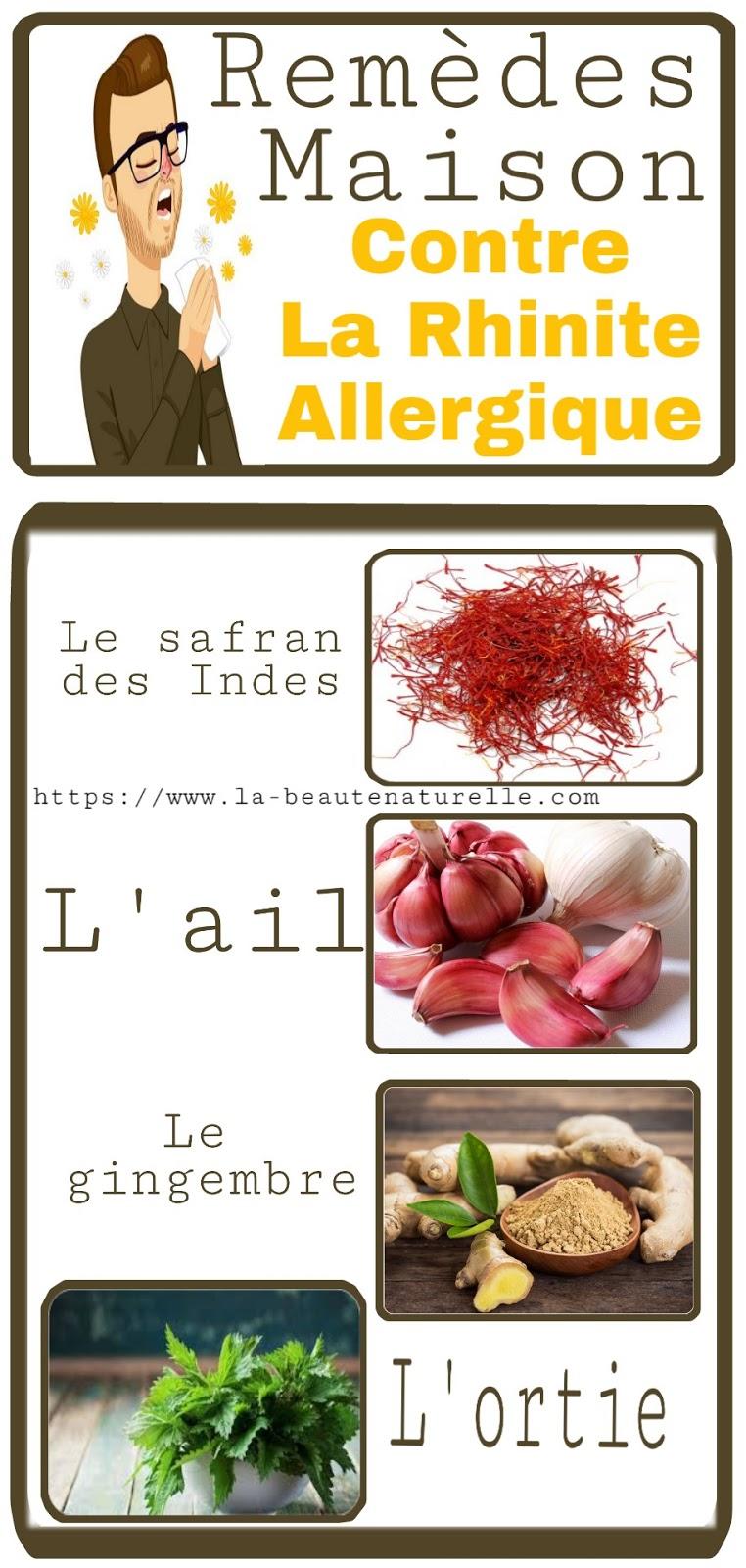 Remèdes Maison Contre La Rhinite Allergique