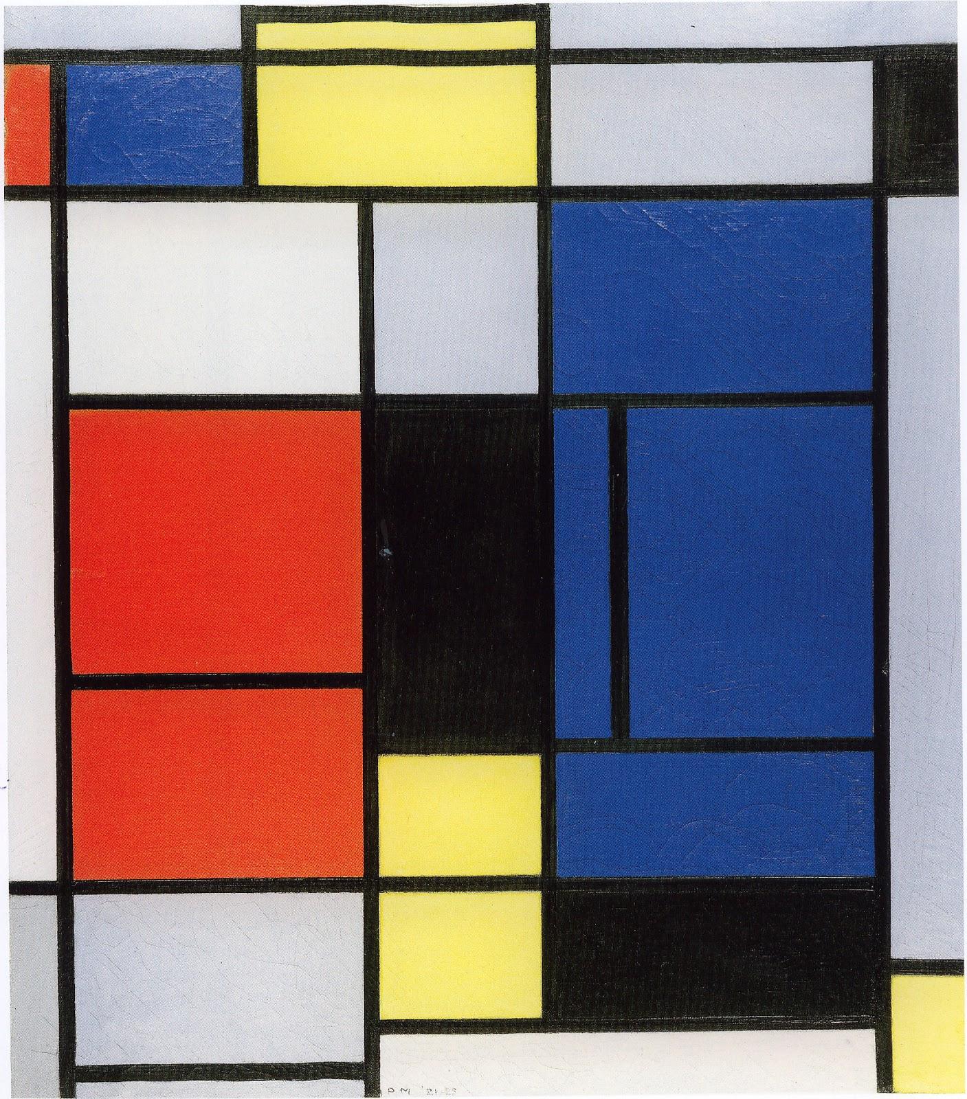 Textile Art Forum: Piet Mondrian