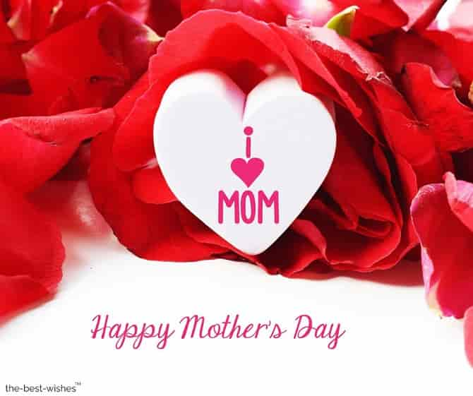 happy mother's day i love mom