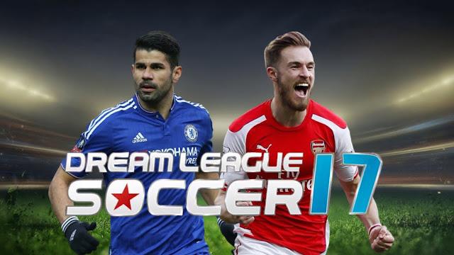 تحميل لعبة دريم ليج Dream League Soccer 2017 APK للاندرويد مجانا
