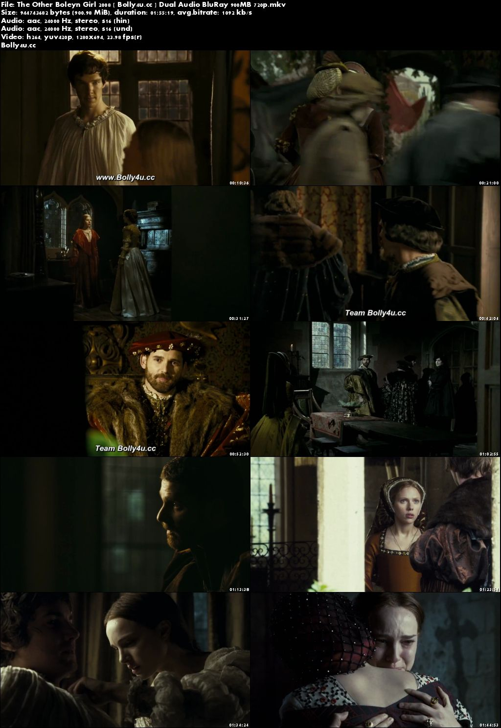 The Other Boleyn Girl 2008 BluRay 350MB Hindi Dual Audio 480p Download