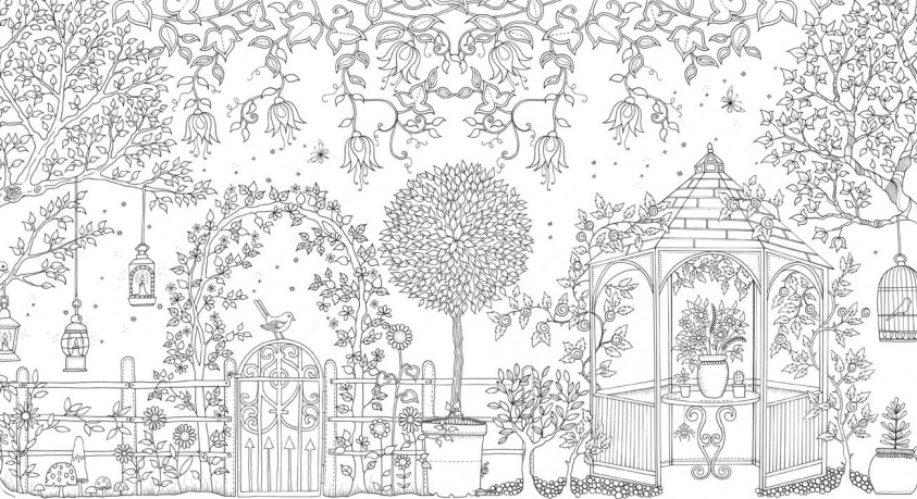 The Enchanted Forest An Inky Quest Coloring Book By Basford Was Published This Year And Offers More Of Same Amazing Illustrations To Color A